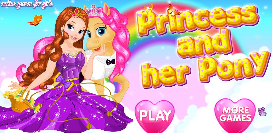 Принцесса и ее пони