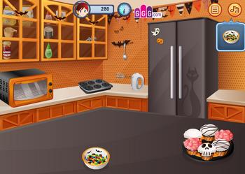 Кухня Сары: кексы страшилки