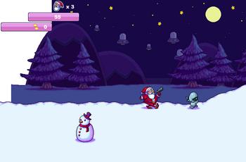Дед мороз против инопланетян