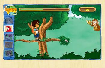 Диего в джунглях
