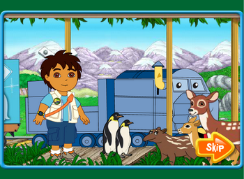 Диего и поезд