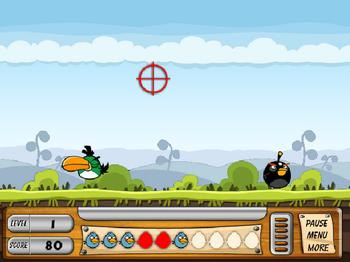 Стрельба по птичкам