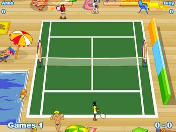 Теннис на двоих