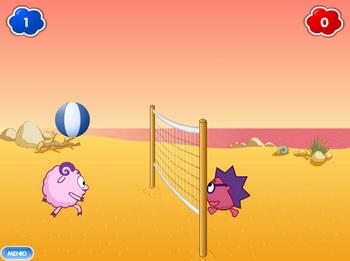 Волейбол Смешариков