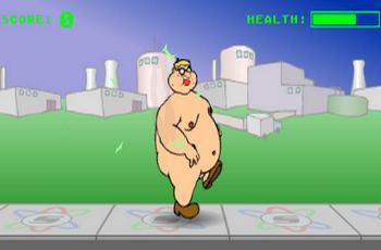 Игра голый человек