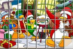 Клуб Пингвинов: Пазл новый год