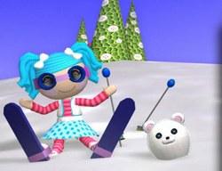 Лалалупси на Лыжах