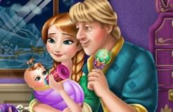 У Анны и Кристоффа малышка