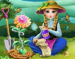 Анна выращивает Цветок