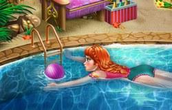 Анна в бассейне