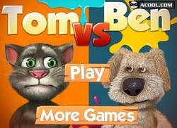Кот Том и собака Бен