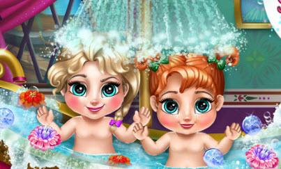 Малышки Анна и Эльза