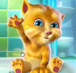 Говорящий кот Джинджер