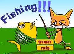 Рыбалка с котом