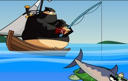 Ниндзя на рыбалке