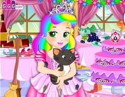 Принцесса Джульетта готовится в вечеринке