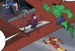Человек - Муравей и Мстители против Гамма Монстров