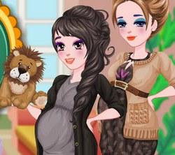 Игра Одевалка: Будущие Мамы