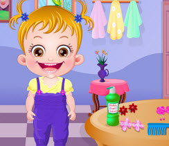 Игра для девочек малышка Хейзел