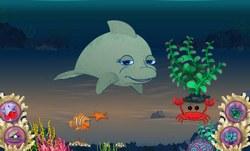 Жизнь Дельфина в аквариуме