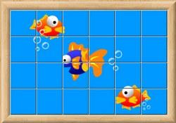 Живой пазл - рыбки