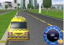 Таксист в гонках к аэропорту