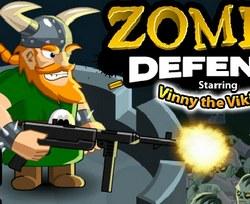 Викинг защищается от зомби