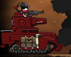 Резня зомби на танке