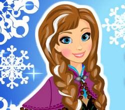 Холодное сердце: Прическа Анны