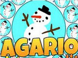 Игра Агарио: Рождество