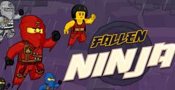 Игра Лего Ниндзяго: Падший Ниндзя