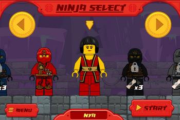 Лего нинзяго играть онлайн