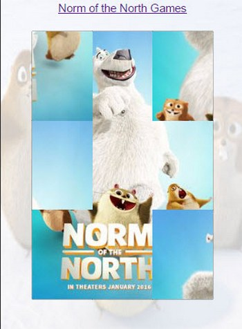 Norm of the North: Пазл