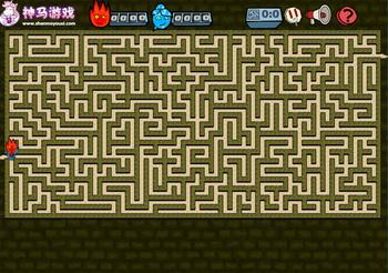 Игра Страшный Лабиринт  Играть Онлайн!