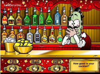 Игра коктейль бармена