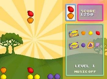 Игра шарики и ягоды
