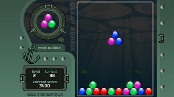 Игра  круглые  шарики