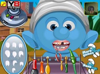 Смурфики: лечить зубы
