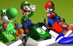 Марио: гонки