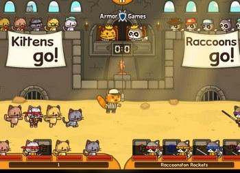Играть в игры отряд котят 4
