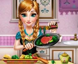 Холодное Сердце: Анна кулинар