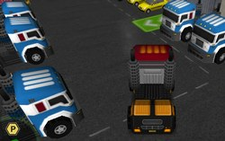 Парковка грузовика