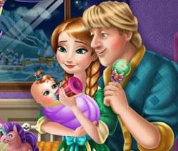 Анна и Кристофф: Уход за малышом