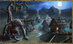 Призрачная тень волка. Пути ужаса