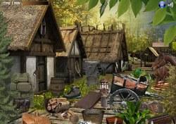 Красивая горная деревня