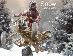 Снежная гонка