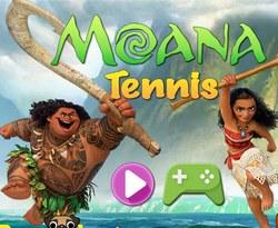 Моана: теннис