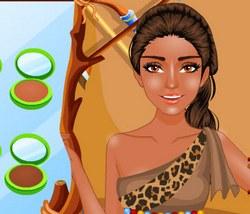 Моана: Макияж для принцессы