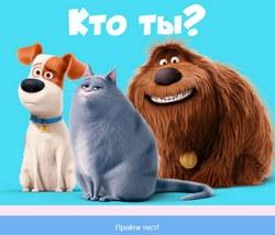 Тест: Кто ты из мультфильма Тайная жизнь домашних животных