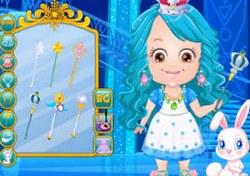 Малышка Хейзел принцесса льда
